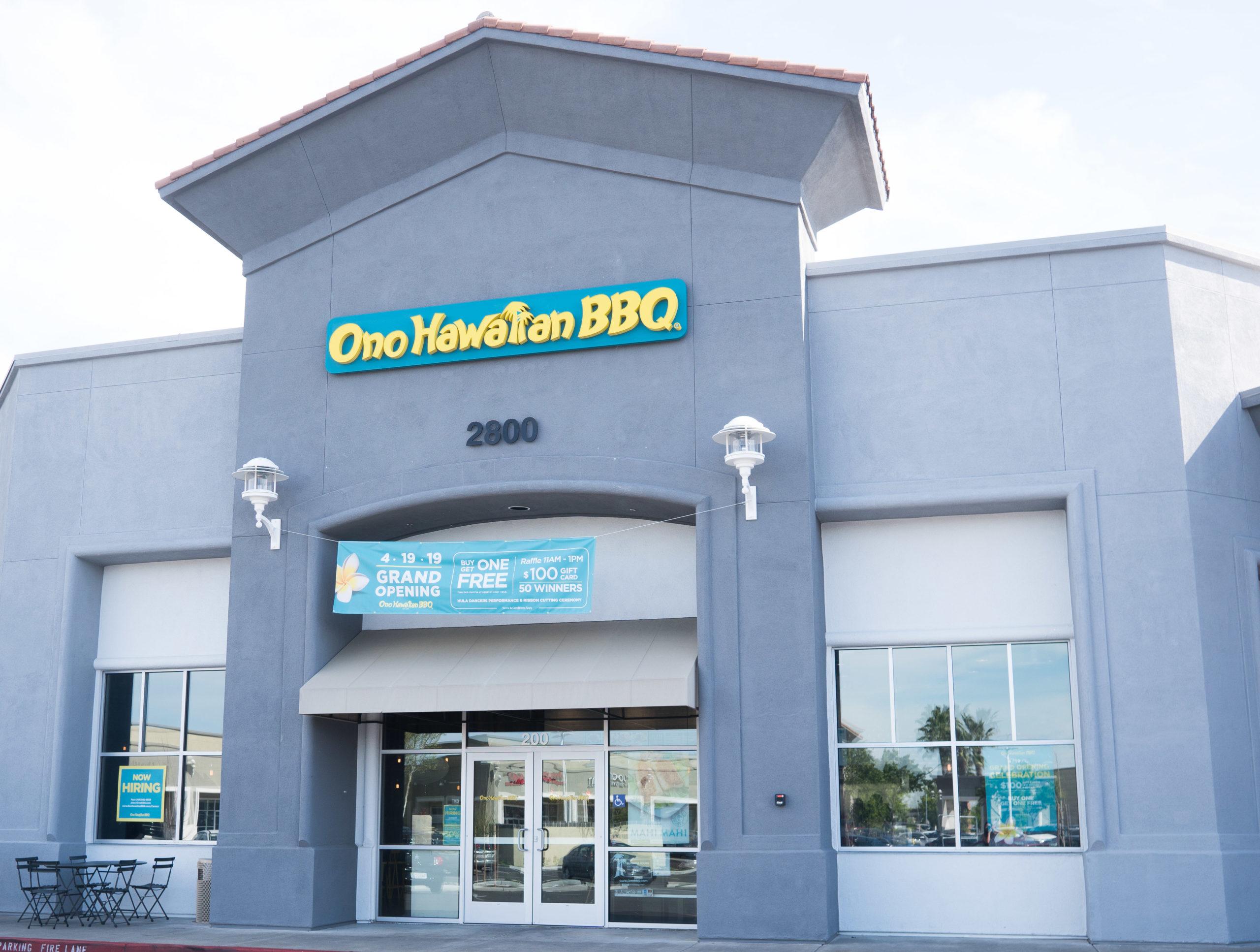Ono Hawaiian BBQ Natomas